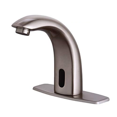 Fyeer Automatic Touchless Sensor Bathroom Faucet, Motion Activated Hands Free Kitchen Sink Tap